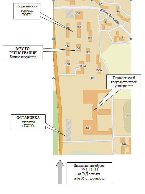 ДВФО: Схема проезда к месту